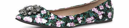 Dorothy Perkins Womens Green print wide fit gem pumps- Green Green print wide fit point gem trim flat pumps with extra padding 100% Textile. http://www.comparestoreprices.co.uk/womens-shoes/dorothy-perkins-womens-green-print-wide-fit-gem-pumps-green.asp
