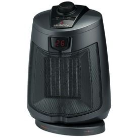 1800W Oscillating Ceramic Heater - Perfect for warming up small spaces!