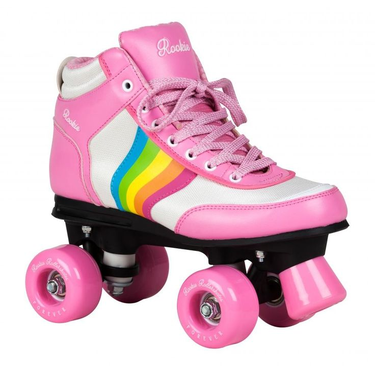 Rookie Forever Rainbow V2 Roller Skates - Pink/Multi #gosk8 #rollerskates
