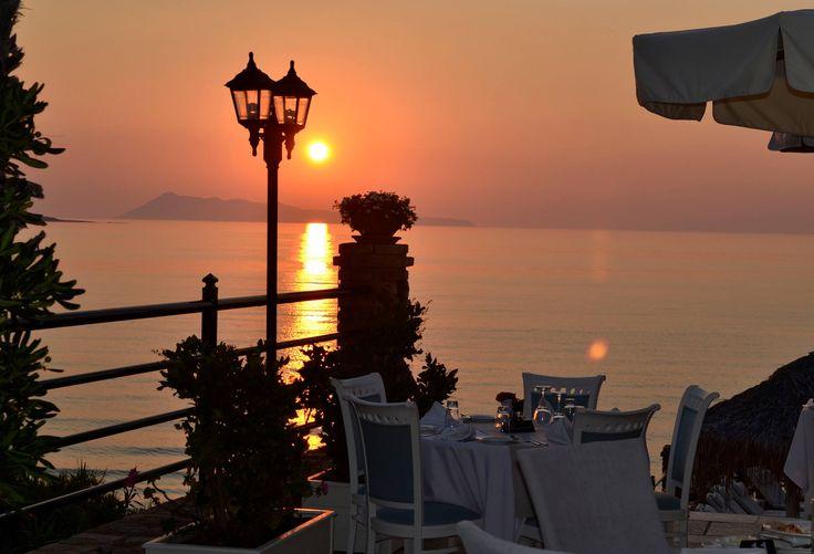 Everyone loves the view of #DelfinoBlu! #Corfu #Sunset