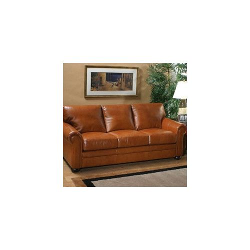 This One Has A Lot Of Configurations Found It At Wayfair   Georgia Leather  Sofa