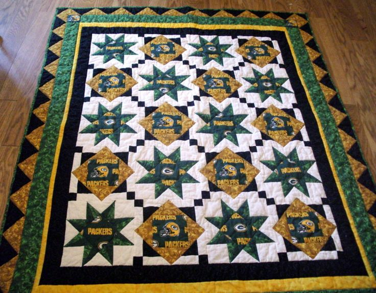 27 Best Images About Green Bay Quilts On Pinterest
