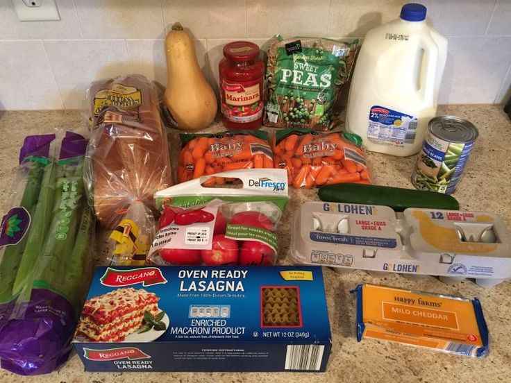 Gretchen's $55 Grocery Shopping Trip and Weekly Menu Plan - Money Saving Mom®️️