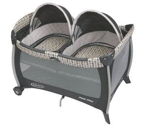 Registry Basics for Twins - Lucie's List Multiples - Graco Bassinet Pack n Play Twin