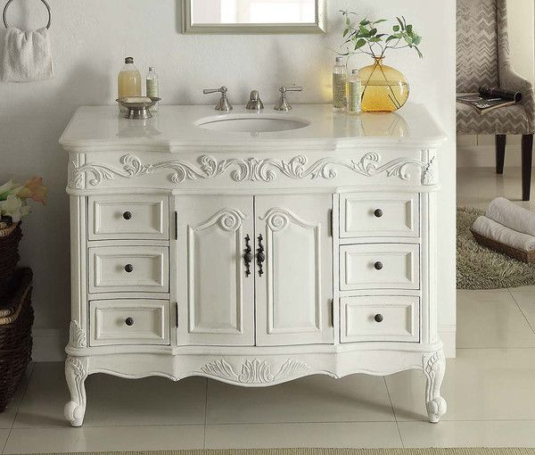 1000+ Ideas About Antique Bathroom Vanities On Pinterest
