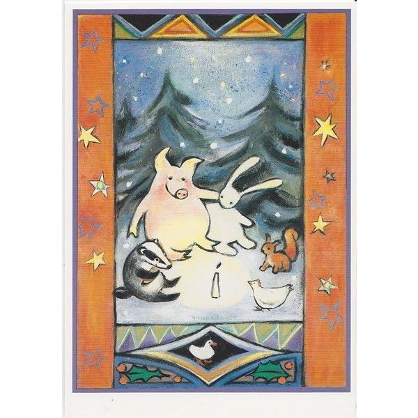 postkaart-samen-bij-het-licht