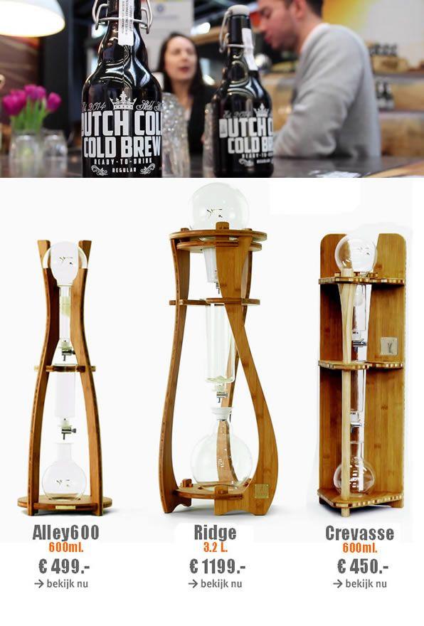 Dutch Coffee Maker - Dutch Coffee - Cold Drip Coffee. http://www.dutchcold.com/