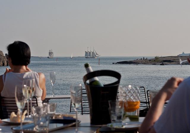 Mattolaituri terrace in Helsinki by Visit Finland (Photo: Ari-Pekka Darth), via Flickr