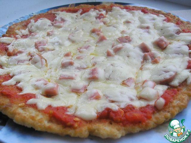 """""""Пицца"""" на сковороде за 30 минут - кулинарный рецепт"""