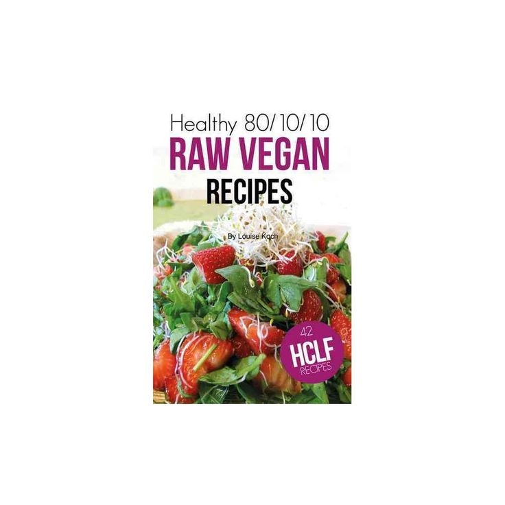 Healthy 80/10/10 Raw Vegan Recipes (Paperback) (Louise Koch) or get the ebook here http://fruitylou.com/healthy-801010-raw-food-recipes