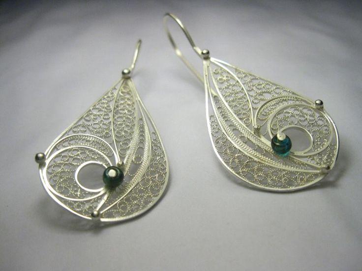 #silver earrings #sofijafiligranska