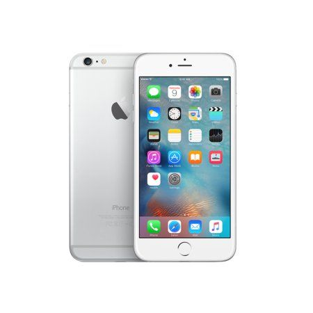 Apple iPhone 6 Plus 64GB Unlocked 5.5 Cell Phone GSM Smartphone Refurbished Silver - Walmart.com