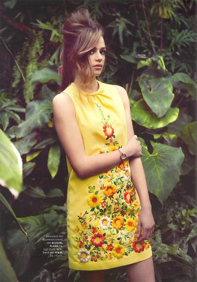 Best Editorials - Blugirl Spring Summer 2014 • Maxi, Germany - March 2014