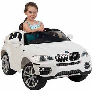 Huffy BMW X6 6-Volt Battery-Powered Ride-On, White