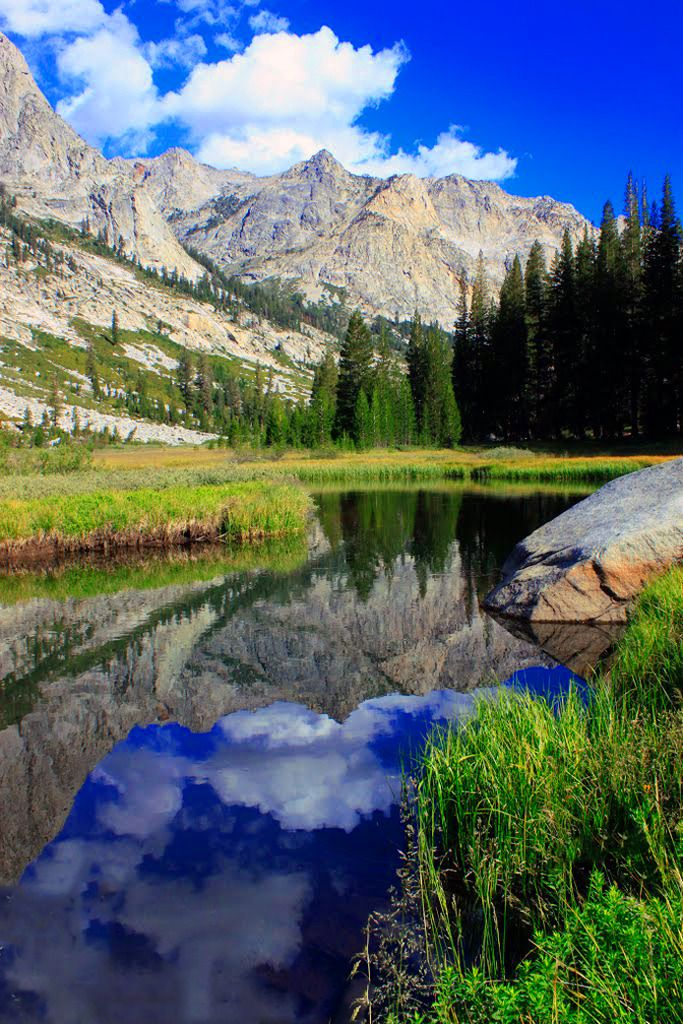 Deer Meadow - John Muir Trail via rockcreeklake