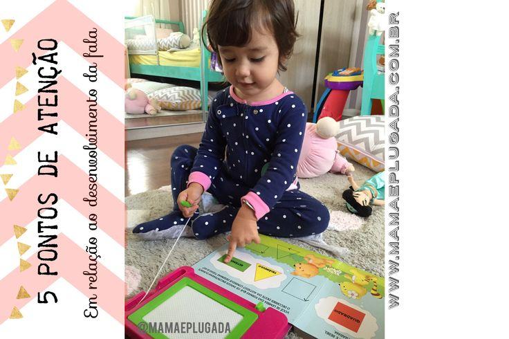 atraso na fala infantil: 5 pontos de atenção | Mamãe Plugada