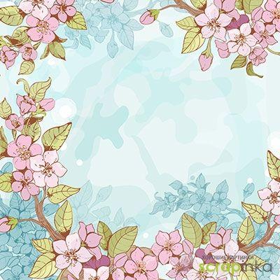 Цветочные картинки для распечатки | Скрапинка - дополнительные материалы для распечатки для скрапбукинга