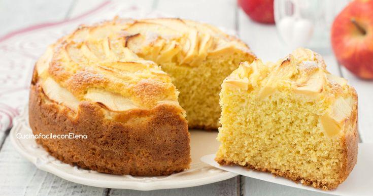 La torta mele e cocco è davvero straordinaria, morbida, golosa e profumatissima, si prepara utilizzando semplicemente una forchetta, niente sbattitori!