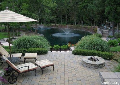 lagos em jardim.
