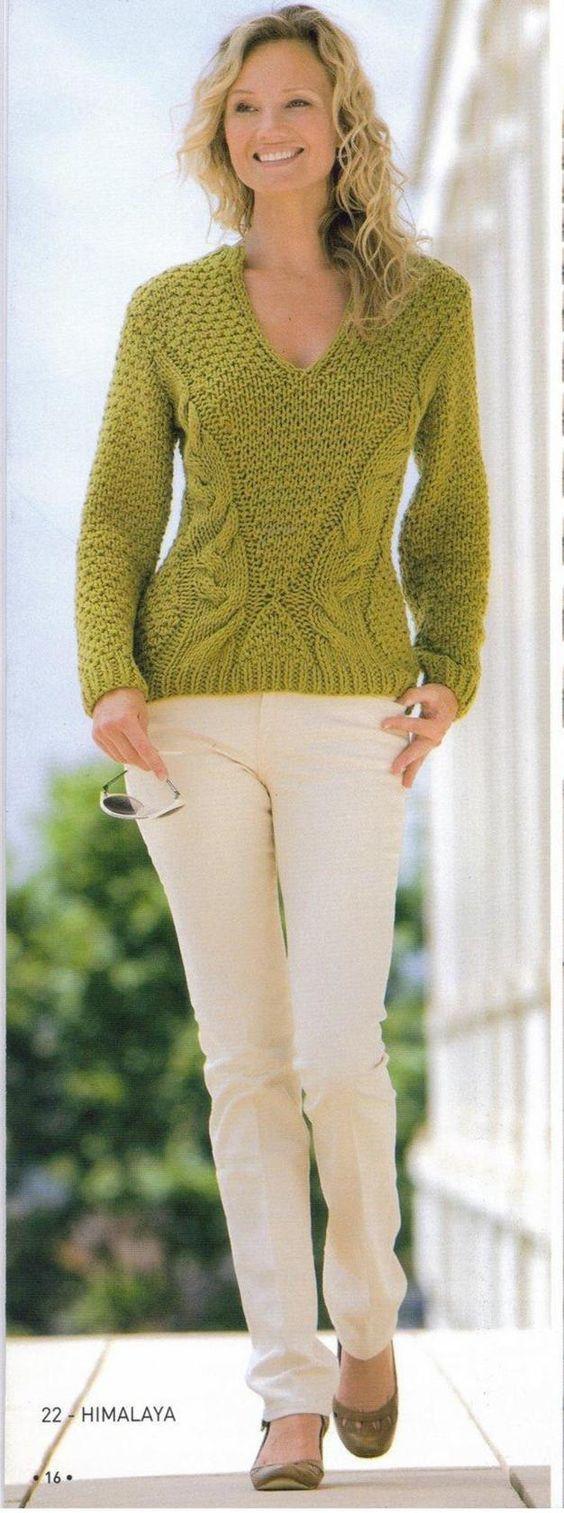 Пуловер Парижанка