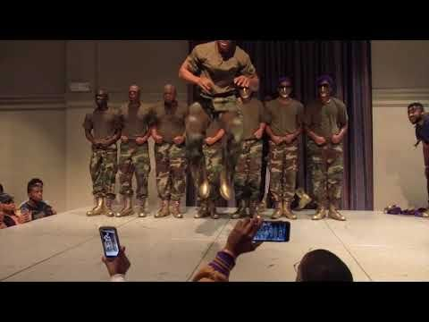 Black #Cosmopolitan Watch How The Omegas at Middle Tennessee State University Revealed Their New Initiates   #Education, #EDUCATIONINTHEUNITEDSTATES, #NationalPan-HellenicCouncil, #OmegaPsiPhi, #Tennessee, #TennesseeStateUniversity         The Ques at theMiddle Tennessee State University just revealed their new line and they SET IT OWT! On November 11, 2017, the Mighty Mu Zeta Chapter of Omega Psi Phi Fraternity Inc., revealed their Fall 17 Neos on the campus of Middl