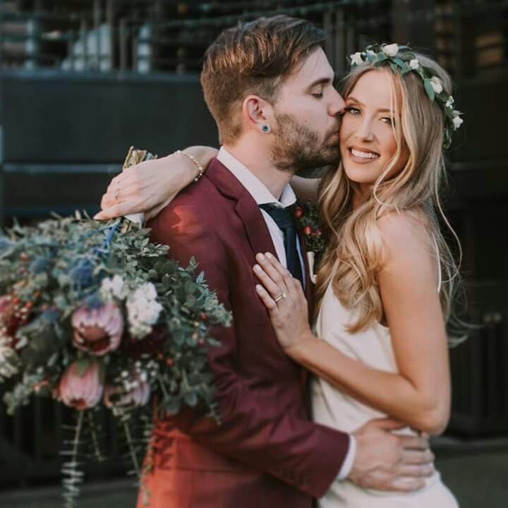 Charles and Allie on their Wedding Day, March 11, 2017