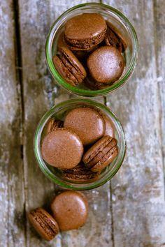 Schokoladen-Macarons mit Schoko-Orangen-Creme – Post aus meiner Küche 4/4
