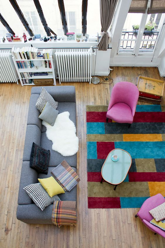 1000 Id Es Sur Le Th Me Tapis Multicolore Sur Pinterest