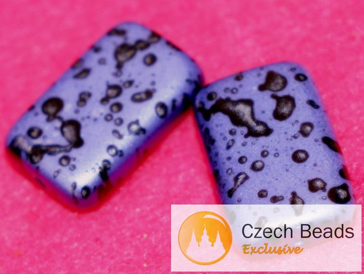 ✔ What's Hot Today: Spotted Matte Purple Large Flat Rectangle Czech Glass Beads Colorful Purple Czech Bright Purple Czech Flat Beads Rave Beads 18mm x 10mm 4pc https://czechbeadsexclusive.com/product/spotted-matte-purple-large-flat-rectangle-czech-glass-beads-colorful-purple-czech-bright-purple-czech-flat-beads-rave-beads-18mm-x-10mm-4pc/?utm_source=PN&utm_medium=czechbeads&utm_campaign=SNAP #CzechBeadsExclusive #czechbeads #glassbeads #bead #beaded #beading #beadedjewelry