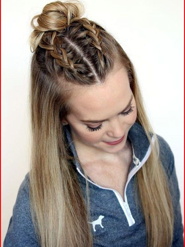Half Up Half Down Easy Hairstyles For School Easy Natural Hairstyles Long Hair Dos Easy Hairstyles Straight Hairstyles