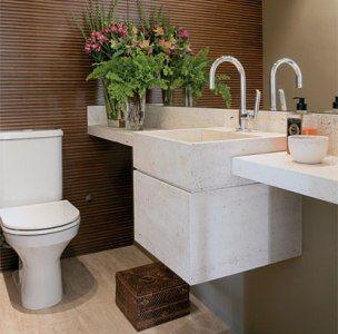 Lavabo sofisticados de banheiro