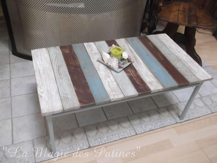 Table Basse Style Bord De Mer