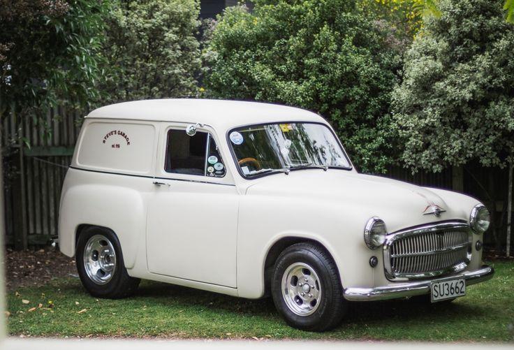 Steve Fisk's 1956 Chrysler Huskette NZ. (Husky/Commer/Simca V8)