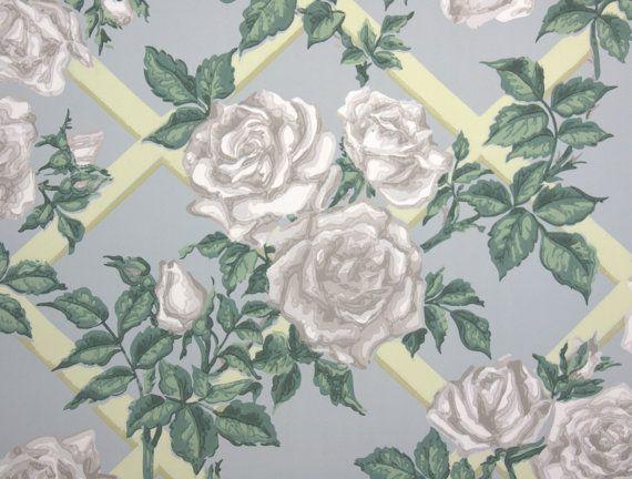 35 Best Images About Vintage Wallpaper Large Blooms On