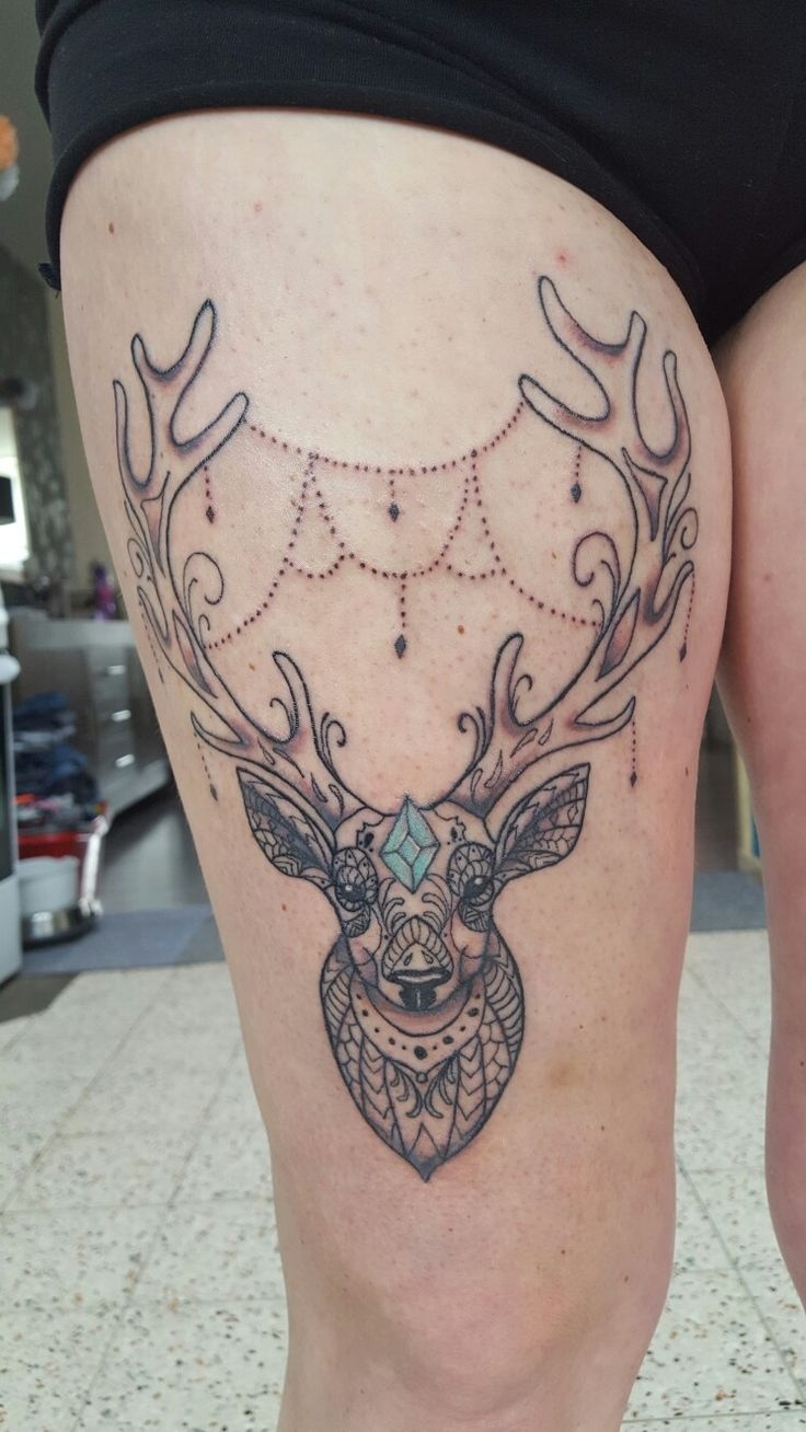 Deer Tattoos For Girls : Best deer tattoo girls ideas on pinterest stag