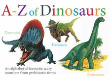 The names of dinosaurs are some of the first impressively long words that children learn. From Apatosaurus to Tyrannosaurus rex to Zephyrosaurus, The A-Z of Dinosaurs presents 26 fun dinosaurs to learn the names of. Each dinosaur is illustrated with an outstanding colour artwork, while a short description outlines its main characteristics.