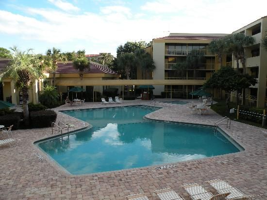 La Quinta Inn Orlando International Drive: vu de la chanbre