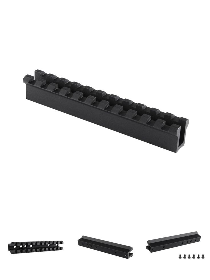 [Visit to Buy] Tactical 10/22 Ruger See Through Weaver Picatinny 1913 Rail Mount of Gun Accessories #Advertisement