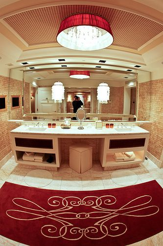 Marble Bathroom at the Encore Las Vegas The ojays Photos and