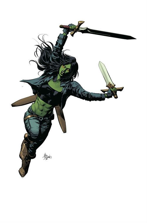 Gamora by Mike Deodato