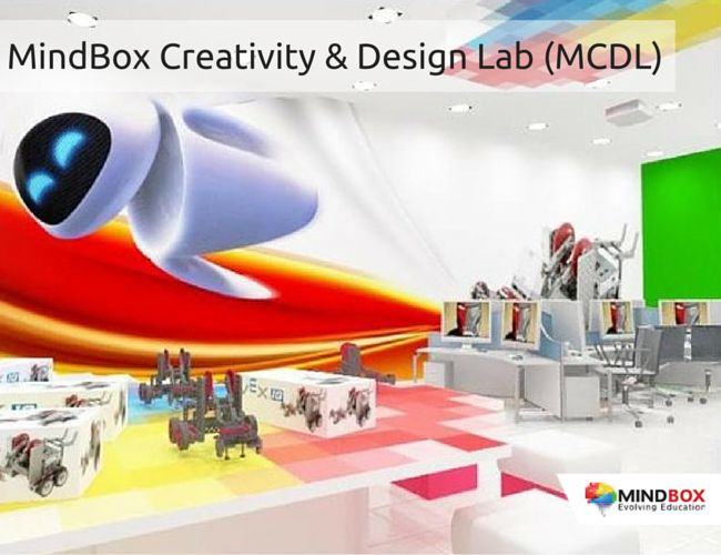 Implementation Mode - Under the MindBox Creativity & Design Lab (MCDL), MindBox will set up a Lab inside the school to empower young students with Creative Design Thinking skills and 21st Century Technology tools. The MindBox Creativity & Design Lab (MCDL) is designed to facilitate creative possibilities in school education that will nurture the creative mindset of children.