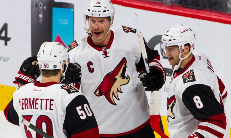 "Shane Doan's Loyalty Rewarded with Franchise Points Record = GLENDALE, Ariz. — Brad Treliving sent Shane Doan all his best wishes on Friday afternoon — all except one.  ""I really want to see him break the record,"" the Calgary Flames GM said. ""I just hope he waits one more....."
