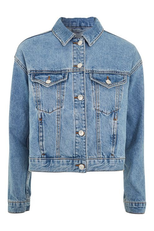 Matilda Denim Jacket Topshop Petite Denim Jacket Jackets Denim Jacket