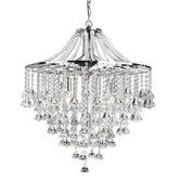 Found it at Wayfair.co.uk - Moon 5 Light Crystal Chandelier in Chrome