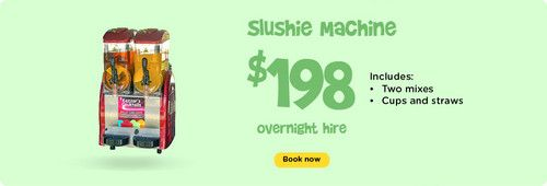 Slushie Machine : Ben 10 - Funky Castles, Servicing Brisbane's North side with children's jumping castles, slushie machines, party lights, smoke machines, and various other party hire needs.  http://funkycastles.com.au/our-products/slushie-machine/ | emilybrooker24