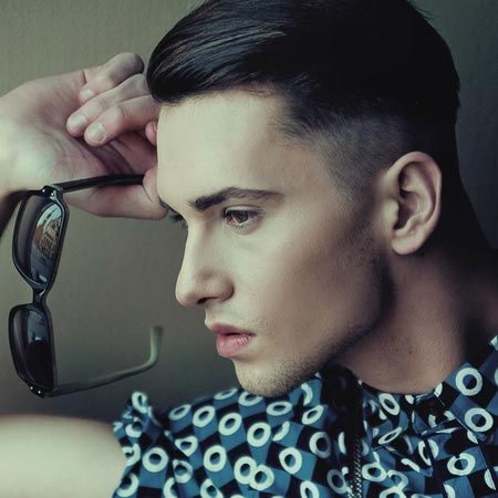 The Edgy Haircut For Men Of 2012 Is The Undercut. Shaved Sides Add A Modern  Twist To Long Fringe Slicked Straight Back. Shown Here With Str.