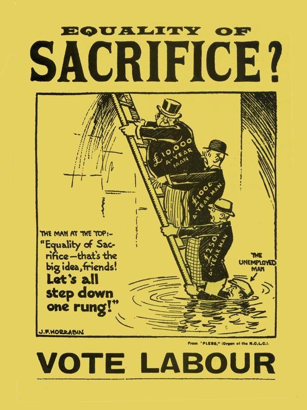 Equality of Sacrifice; Election Poster