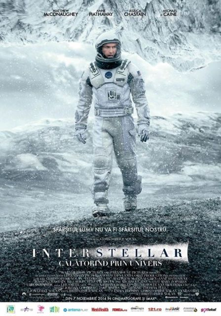 Interstellar, calatorind prin univers, un filme pe care trebuie sa il vezi!