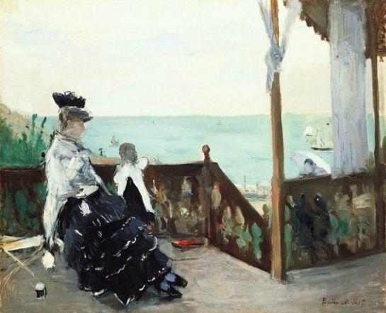Berthe Morisot, Terrasse de Normandie