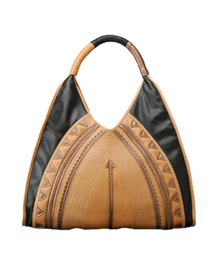 Ethnic Applique Vegan Tote Bag by Melie Bianco